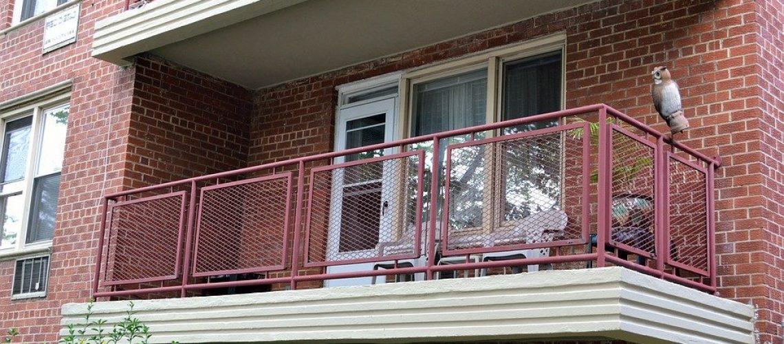 Windows in terrace